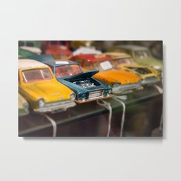 Car Trouble Metal Print