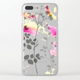 Efflorescence [1] Clear iPhone Case