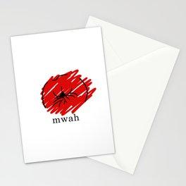 Kiss Kiss Mwah Stationery Cards