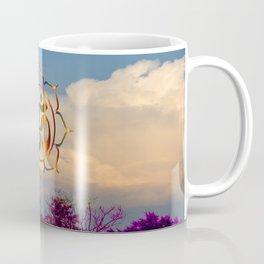 Trees Clouds Om Coffee Mug