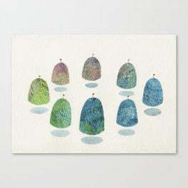 mountain reunion Canvas Print