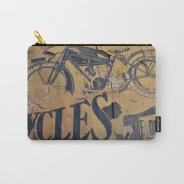 Cycles Vintage Poster Carry-All Pouch