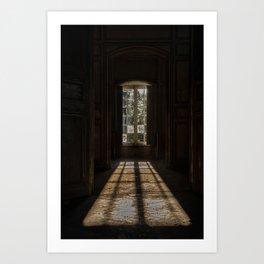 The angel's castle - urbex Art Print