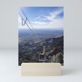 Sandia Tram Mini Art Print