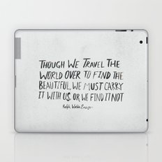Ralph Waldo Emerson: Beautiful Laptop & iPad Skin
