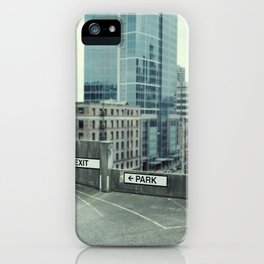 exit iPhone Case