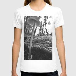 Black and White Mushroom T-shirt