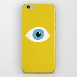 eye open iPhone Skin