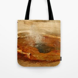A Thermal Bubbel Hole Tote Bag