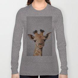 Baby Giraffe - Colorful Langarmshirt