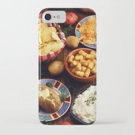 Potato Foods iPhone Case