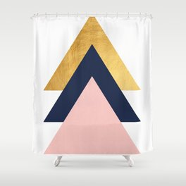 Set of triangles Shower Curtain