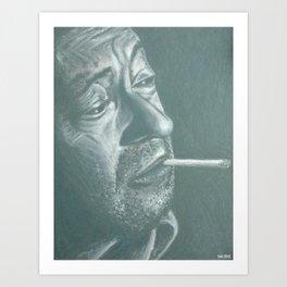 serge&gitane! Art Print