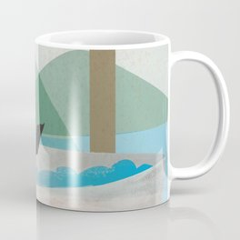 Bathing lady Coffee Mug