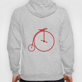 Red Penny Farthing Hoody