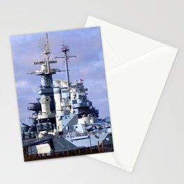 USS North Carolina BB-55 Stationery Cards