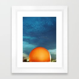 Gibeau Orange Julep Framed Art Print