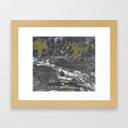 Love, Busted Framed Art Print