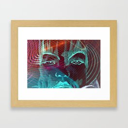 Vibrations Abstract 002 Framed Art Print
