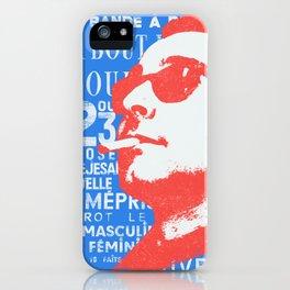 godard iPhone Case