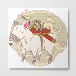 English Bull Warrior Metal Print