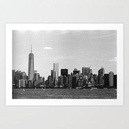 New York Gritty Art Print