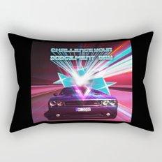 Challenge your Dodgement Day Rectangular Pillow