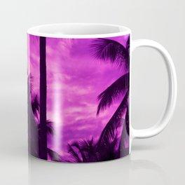 Ultra Violet Palm Trees Coffee Mug