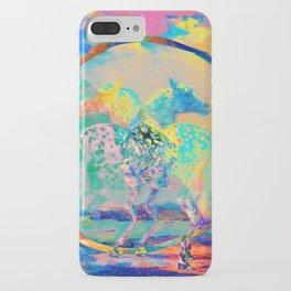 Glitch Horse II iPhone Case