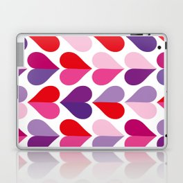 Love and Kisses in Ultra Violet Laptop & iPad Skin