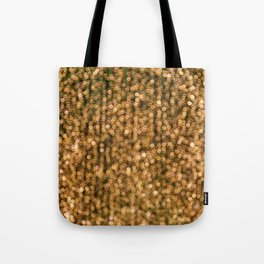 The Golden Lights (Color) Tote Bag