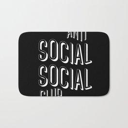 Anti Social Social Club Bath Mat