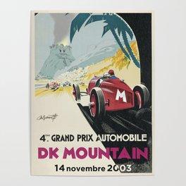 DK Mountain Grand Prix Poster