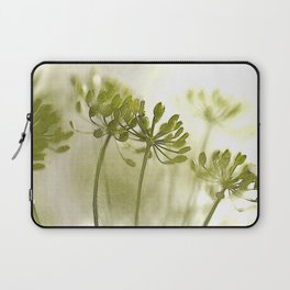 Something green and delicate #decor #society6 Laptop Sleeve