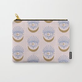 Eyes Moon Pattern Carry-All Pouch