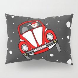 Santas Sleigh Is In The Shop Pillow Sham