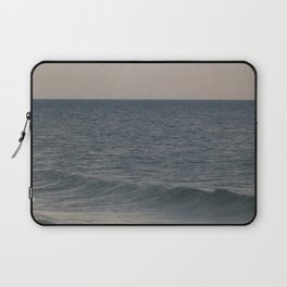 Breakers // Lake Michigan Waves Photography Laptop Sleeve