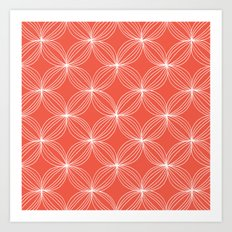 Star Pods - Coral Art Print