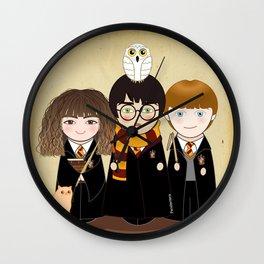 Kokeshis Hermi, Harry and Ron Wall Clock