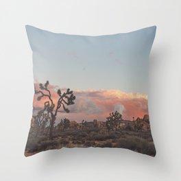 Joshua Tree Sunset No.2 Throw Pillow