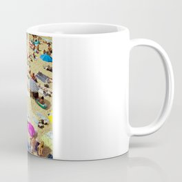Beach pattern Coffee Mug