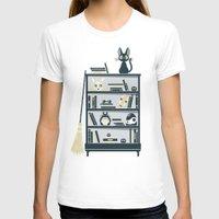 ghibli T-shirts featuring Ghibli Shelf // Miyazaki by Daniel Mackey