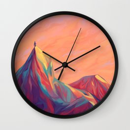 Go Wander Wall Clock