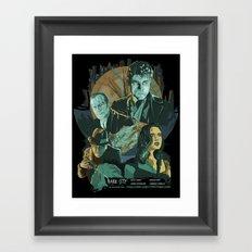 Dark City Poster Framed Art Print