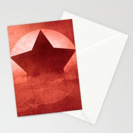 Star Composition II Stationery Cards
