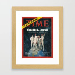 """PLANET OF THE APES - """"Godspeed, Icarus!"""" Framed Art Print"""