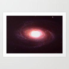 Unknown Galaxy Art Print