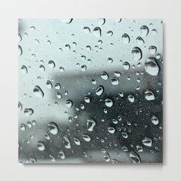 Bad Weather Driving Metal Print