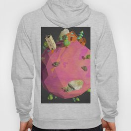 Low Poly Earth 7 Hoody