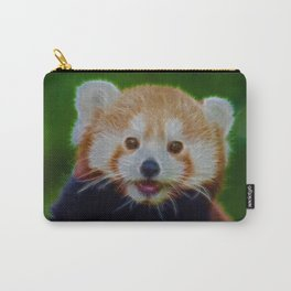 Little Cheeky Red Panda Carry-All Pouch